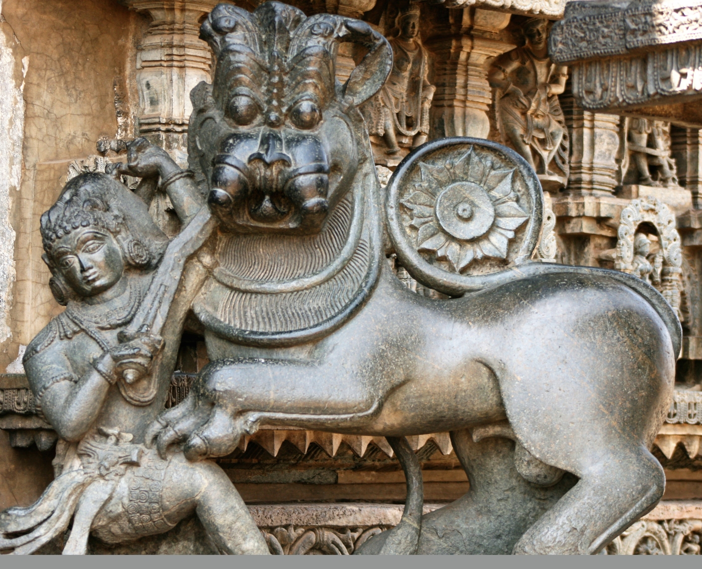 The Royal Seal of the Hoysalas